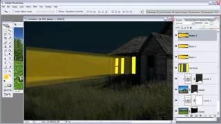 tut tạo hiệu ứng ánh đèn cửa sổ