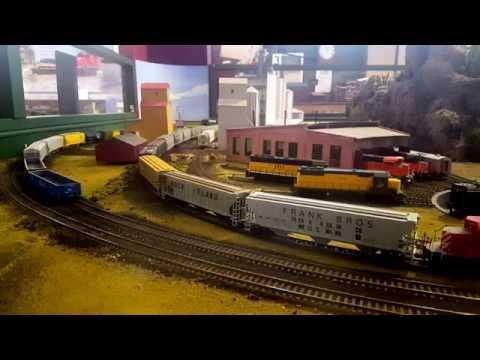 South Dakota State Railroad Museum HO Scale layout
