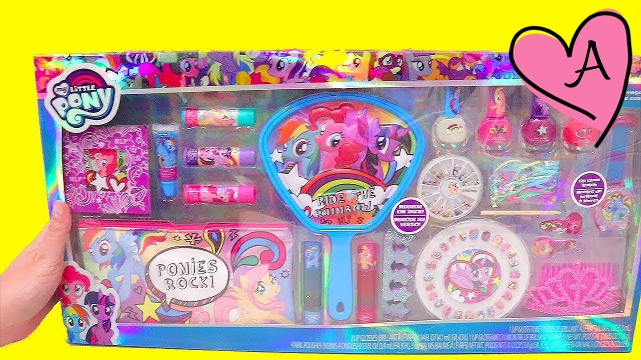 Set de brillos labiales y esmaltes de uñas de My Little Pony ...
