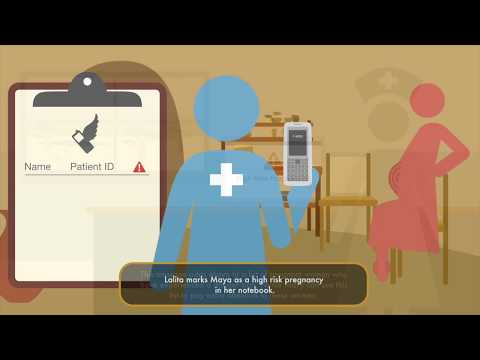 Medic Mobile   Reporting danger signs using SMS