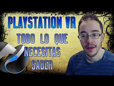 PLAYSTATION VR - Características, requisitos y precio