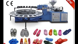 plastic slipper machine