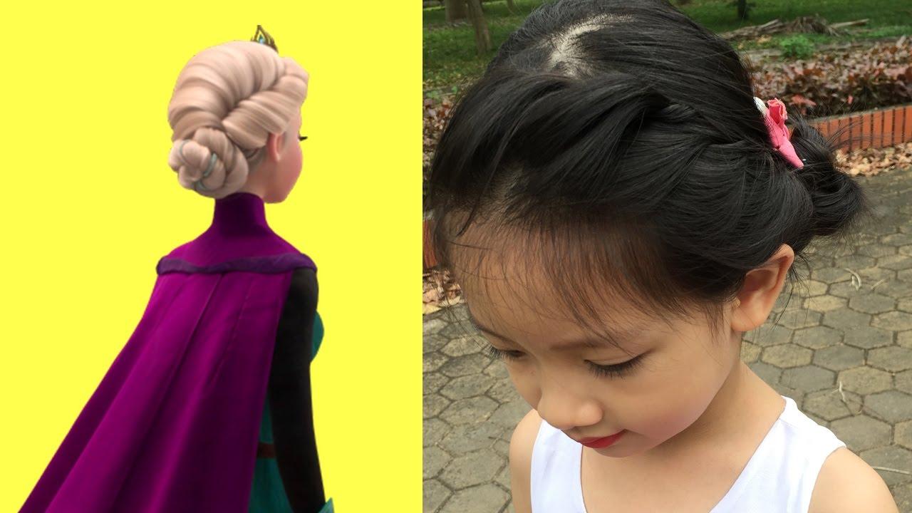 Hướng Dẫn Tết Tóc kiểu Nữ Hoàng Elsa trong Frozen 1| Vintage Hair Styles