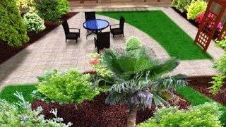 Дизайн садового участка. Несколько красивых идей