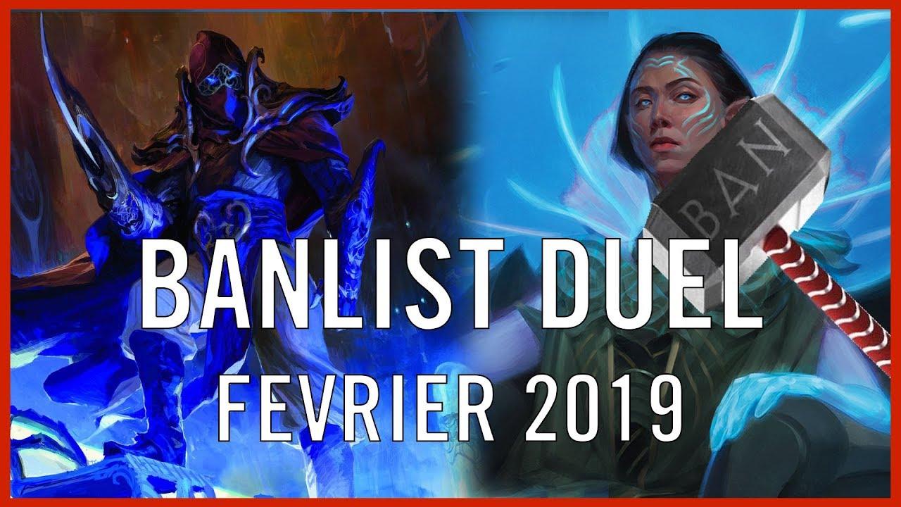 Nouvelle banlist en Duel Commander !