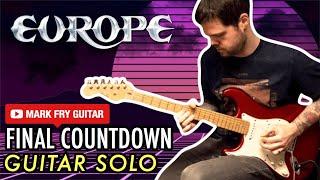 The Final Countdown Guitar Solo (Europe)
