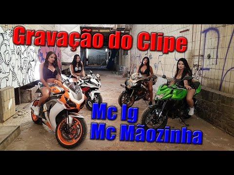 GRAVAÇÃO DE CLIPE DE FUNK COM A FIONA - Z750 - CANAL DO ALEMÃO