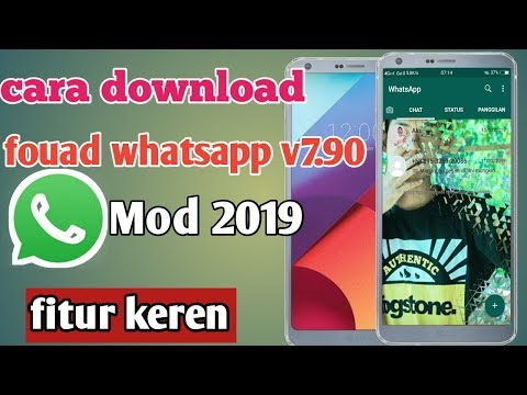 Cara Download Whatsapp Mod || Fouad Whatsapp V7.90