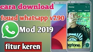 Gambar cover Cara download whatsapp mod || fouad whatsapp v7.90