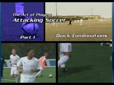 Soccer DVDs: The Art of Playing Attacking Soccer 2