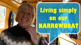 Living simply on our NARROWBOAT and attempting PLASTIC FREE LIFE - 1
