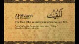Names of Allah - Al Muqeet