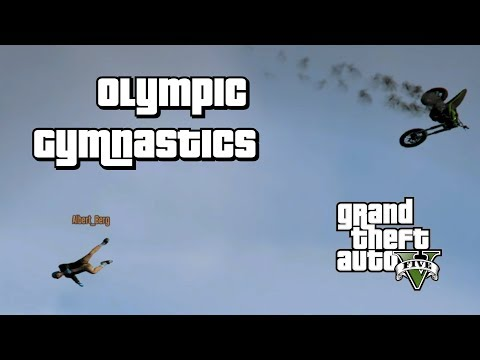 GTA 5 Online: Olympic Gymnastics Competition