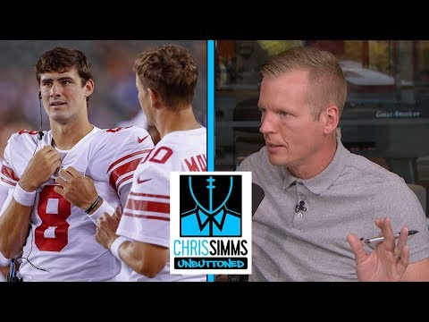 Phil Simms reacts Daniel Jones, benching of Eli Manning  Chris Simms Unbuttoned  NBC Sports