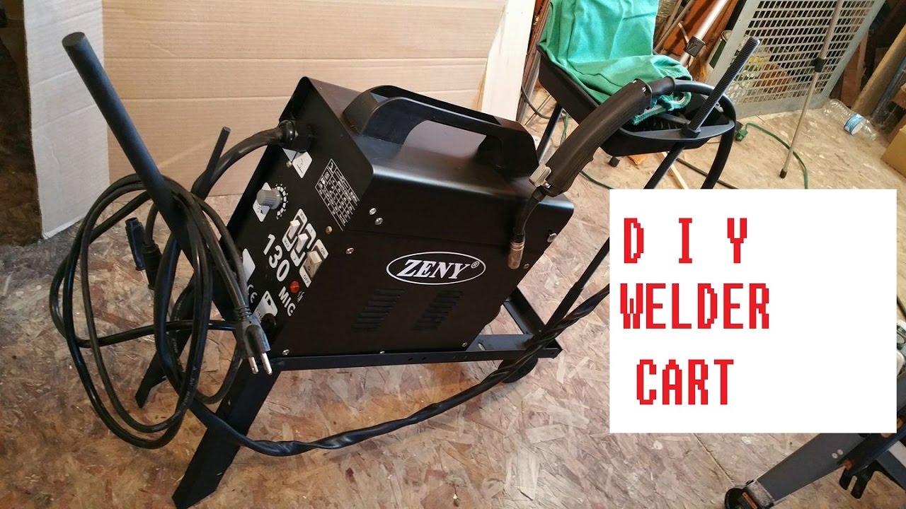 DIY Welding Cart, Homemade Welder Cart, How To Weld