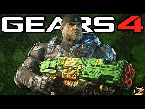 Gears of War 4 - New Unlockable Lucky Weapon Skins, New Gear Packs & Season 2 Rewards Update!