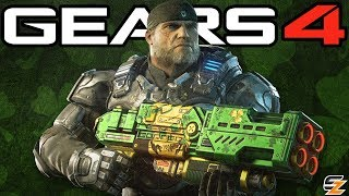 Gears of War 4 - New Unlockable Lucky Weapon Skins, New Gear Packs & Season 2 Rewards Update!
