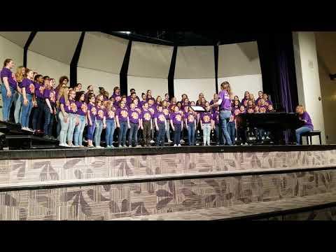 Jefferson Robertsville Middle School mixed choir