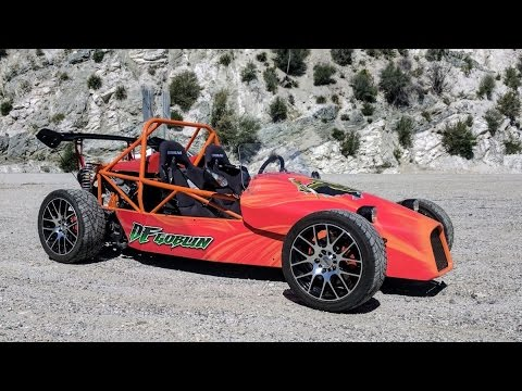 Open wheel kit car
