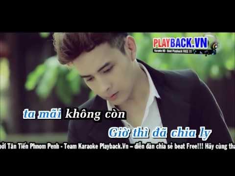 [ Karaoke HD ] Tìm Em - Hồ Quang Hiếu Playback.vn
