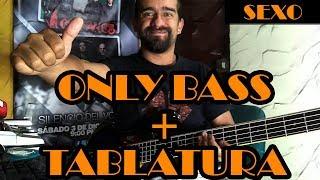 Sexo - Los Prisioneros - Only Bass + Tablatura