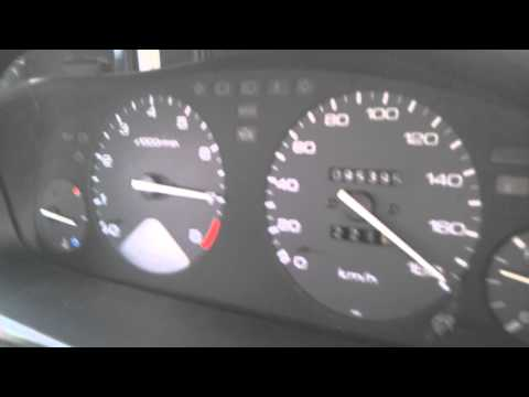 Honda Accord H22A acceleration 0-180km/h