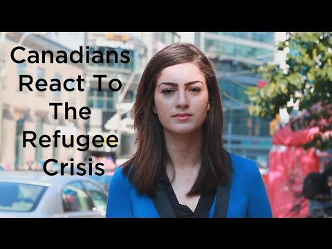 Canadians React to the Refugee Crisis - #RefugeesWelcome
