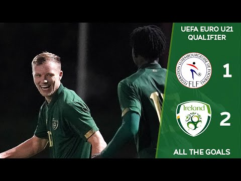#IRLU21 GOALS | Luxembourg 1-2 Ireland - UEFA European Under-21 Championships Qualifier