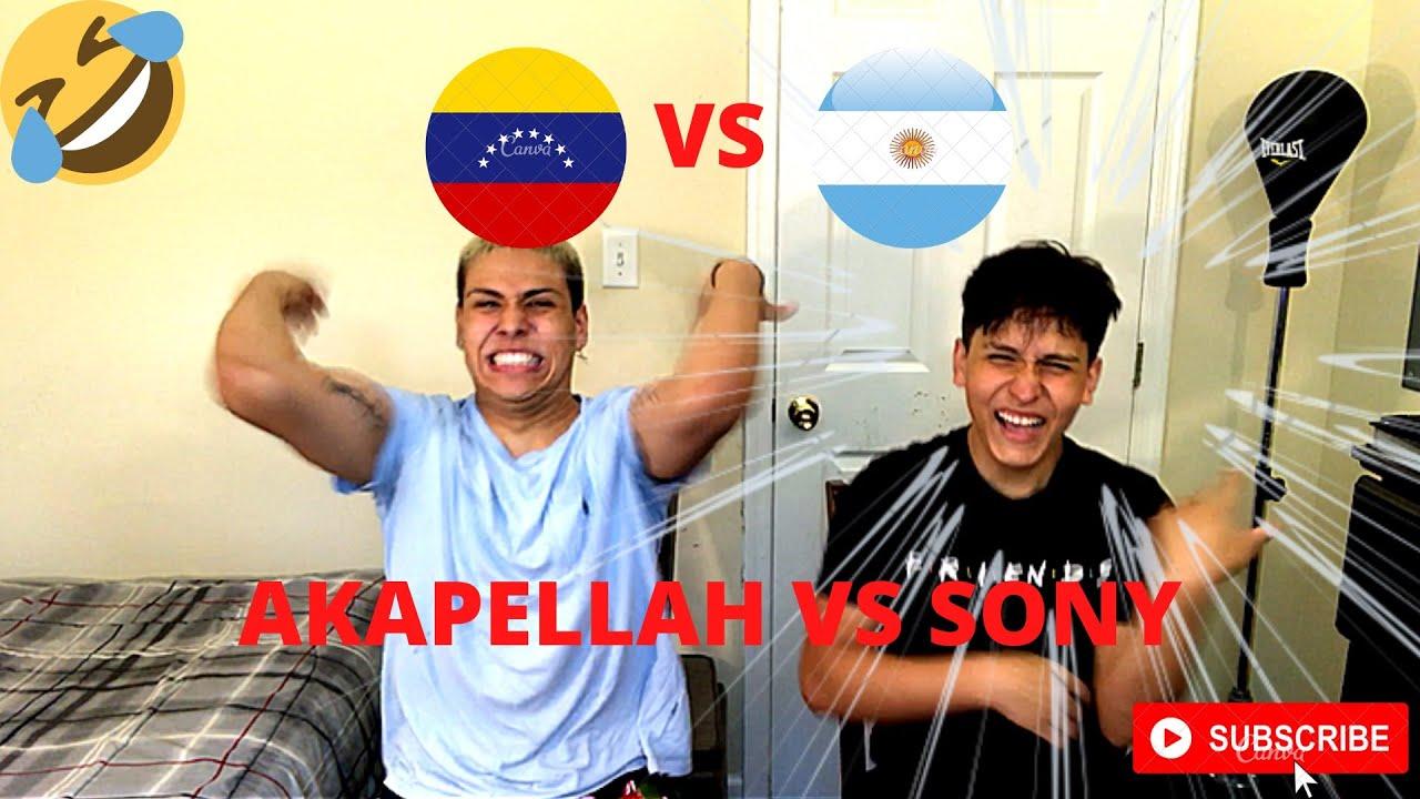 REACCIONAMOS A SONY VS AKAPELLAH/ FLOW Y MUCHO CULO 😂🍑