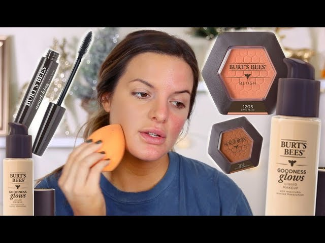 BURTS BEES GOODNESS GLOWS FOUNDATION WEAR TEST | HIT OR MISS? |  Casey Holmes
