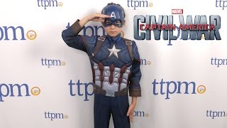 Captain America Civil War Deluxe Captain America from Rubies Costumes