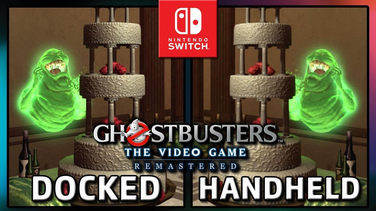 Ghostbusters: The Video Game Remastered   Docked VS Handheld   Frame Rate TEST on Nintendo Switch
