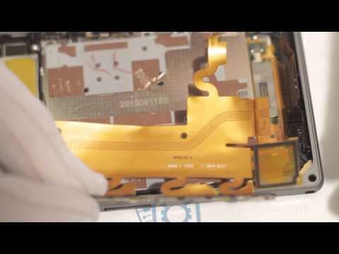 Sony Xperia Z1 как разобрать, ремонт и сборка Xperia Z1