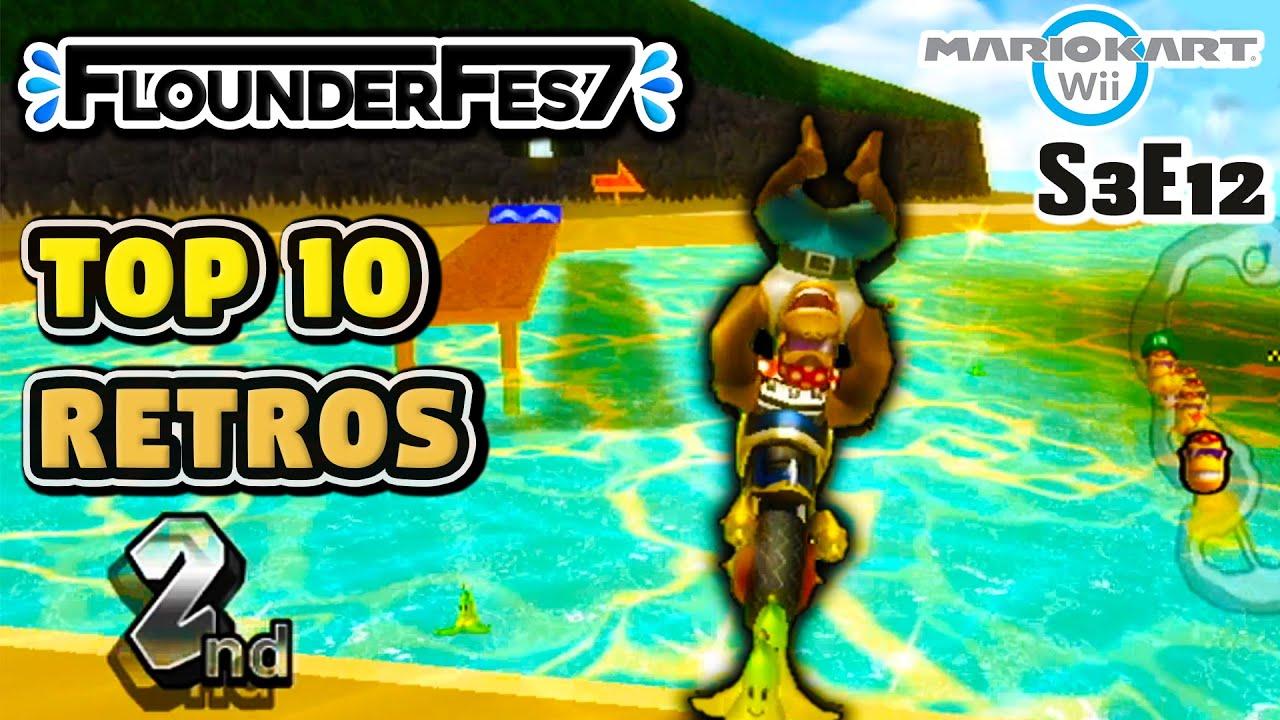 We Raced Our TOP 10 Retro Custom Tracks in Mario Kart Wii