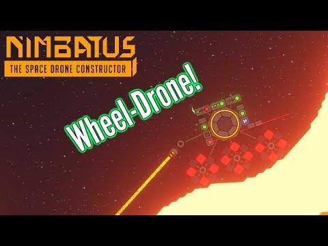 Nimbatus | Little Wheel Drone! (Land vehicle?!)