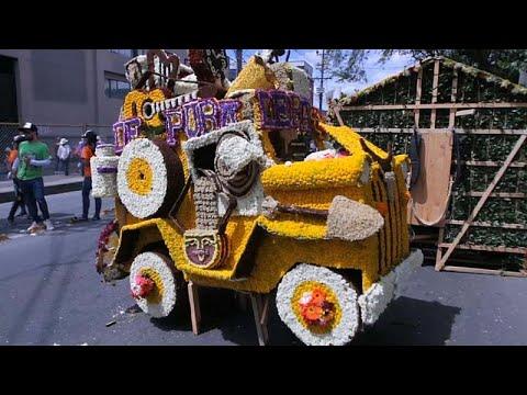 Feira das Flores de Medellín encerra com Desfile de Silleteros