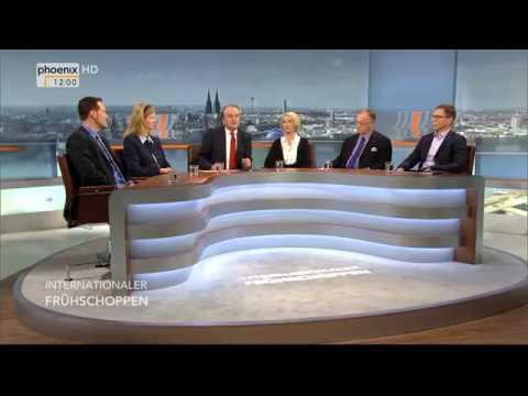 """""""Der Polarisierer im Weißen Haus"""" - Internationaler Frühschoppen vom 28.01.18"""
