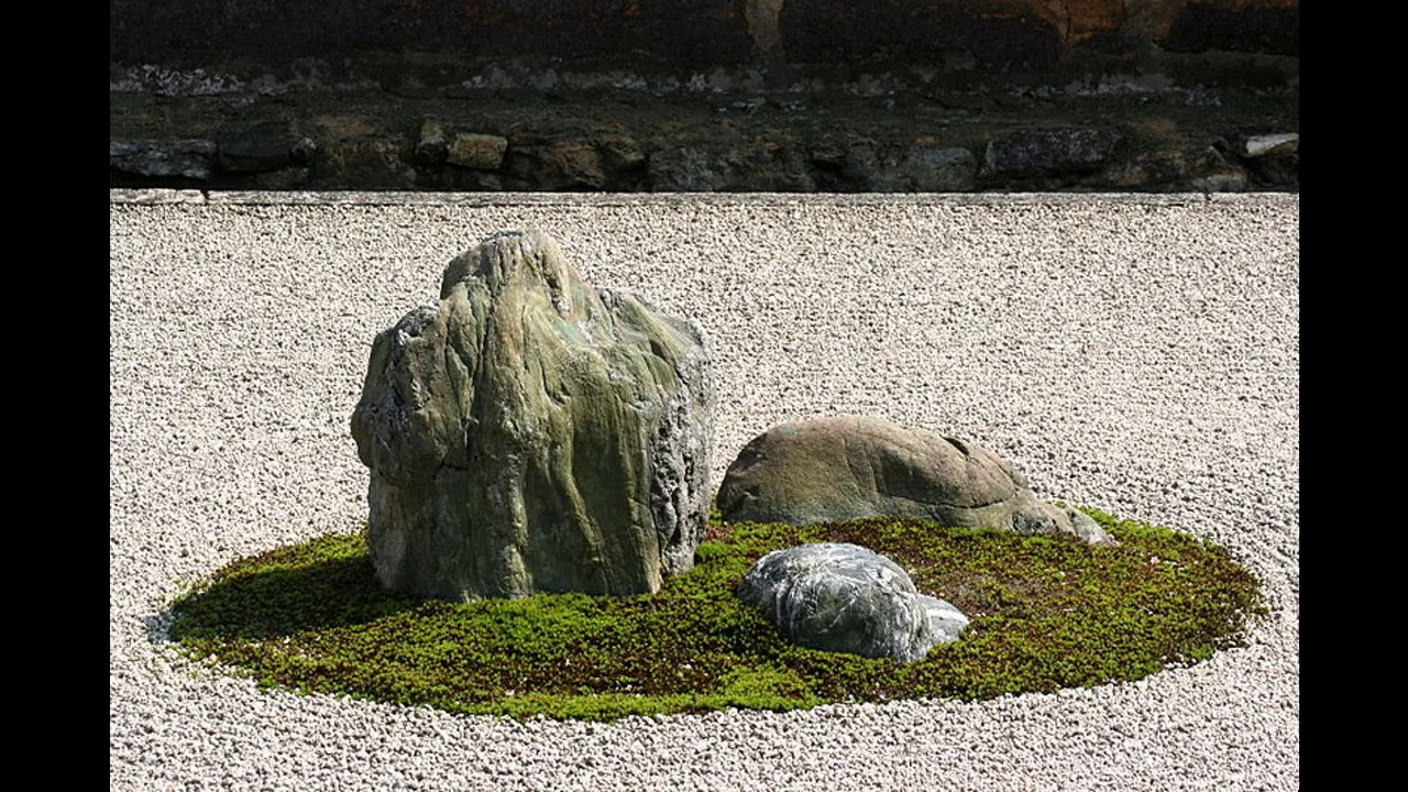 Japanese Rock Gardens Design Youtube