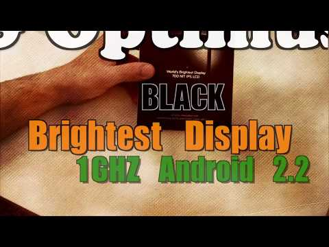 LG Optimus Black Unboxing and Hands On