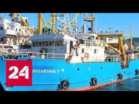 С экипажем задержанного в КНДР судна встретились российские дипломаты - Россия 24