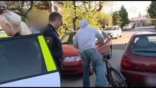 Polisen tar till hårdhandskarna mot brottsligheten