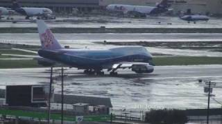 747 Dreamliner Take Off from LAX - Live ATC