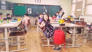 Открытый урок в обычной начальной школе, Южная Корея.
