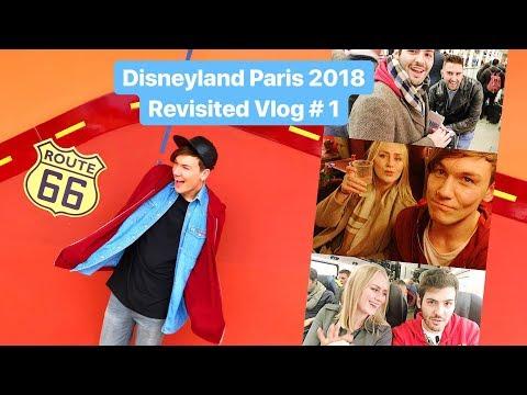 Vlog #1   Eurostar, Santa Fe Hotel & Disney Village!   Disneyland Paris Revisited 2018