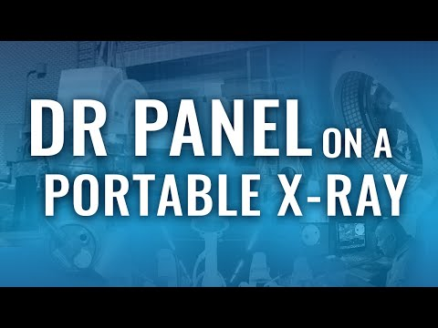 Using A DR Panel To Make Your Portable X-Ray Fully Digital Upgrade