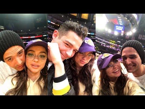 Sarah Hyland  Snapchat Story  21 November 2017 w Boyfriend Wells Adams