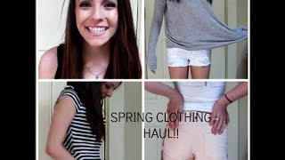 Collective Spring Clothing Haul!! Thumbnail