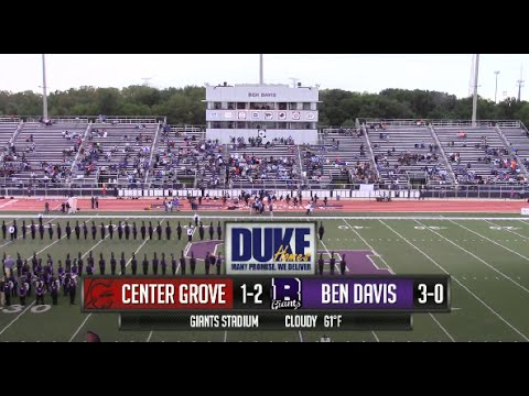 Center Grove vs Ben Davis (2014)