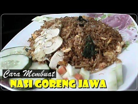 Cara Membuat Nasi Goreng Jawa - Resep Masakan Indonesia