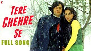 Tere Chehre Se Song HD तेरे चेहरे से Kabhi Kabhie Rishi Neetu Kishore Lata Mangeshkar